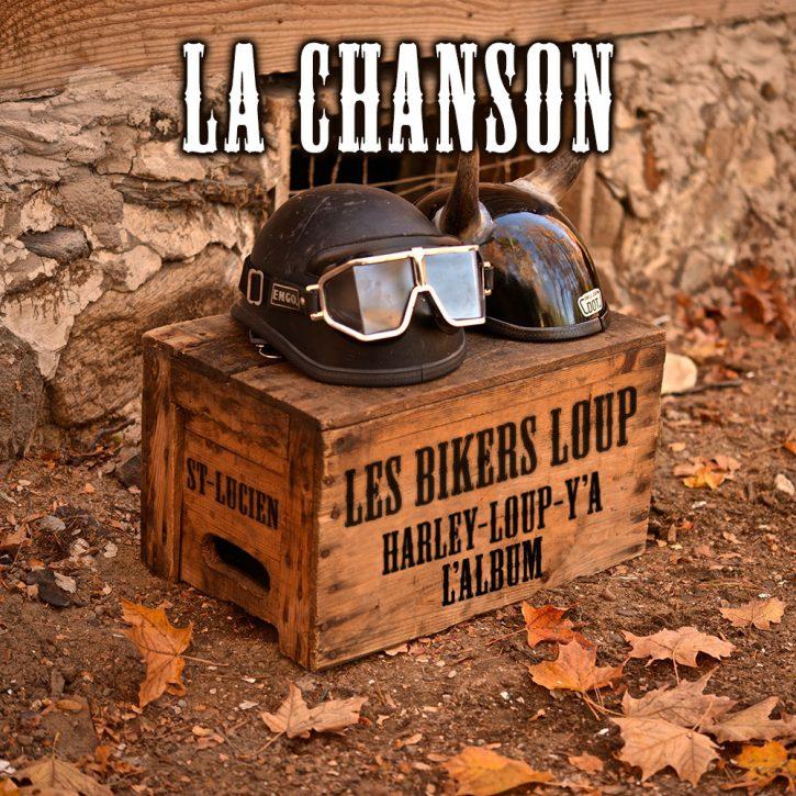 les bikers loup harley loup y a album