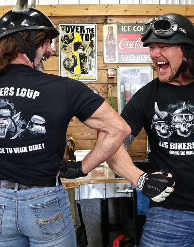 t-shirt bikers loup